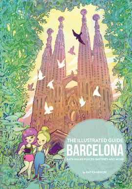 ILLUSTRATED GUIDE BARCELONA, THE [ENG-CAS]
