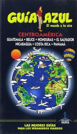 CENTROAMÉRICA -GUIA AZUL
