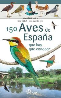 150 AVES DE ESPAÑA [ACORDEON] -MINIGUIA DE CAMPO -ORYX