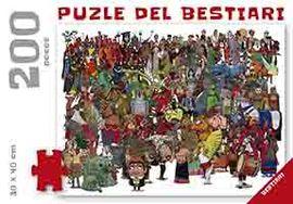 PUZLE DEL BESTIARI, EL [200 PECES - 30X40 CM]