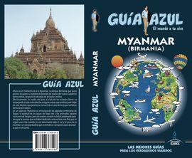 MYANMAR (BIRMANIA) -GUIA AZUL