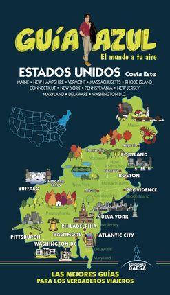 ESTADOS UNIDOS COSTA ESTE -GUIA AZUL