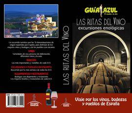 RUTAS DEL VINO, LAS -GUIA AZUL