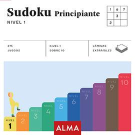 SUDOKU PRINCIPIANTE - NIVEL 1