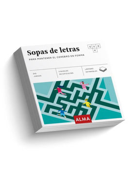 SOPAS DE LETRAS. PARA MANTENER EL CEREBRO EN FORMA