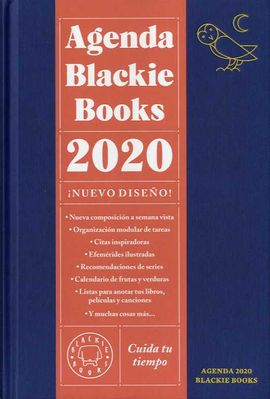 2020 AGENDA BLACKIE BOOKS