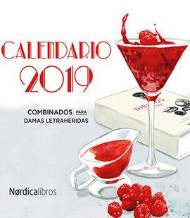 2019 CALENDARIO ESCRITORAS Y CÓCTELES