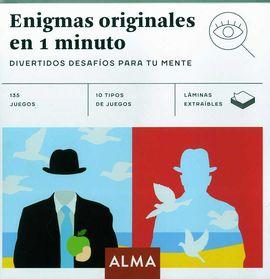 ENIGMAS ORIGINALES EN 1 MINUTO -ALMA