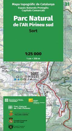 31 PARC NATURAL DE L'ALT PIRINEU SUD 1:25.000 -ICGC