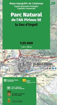 29 PARC NATURAL DE L'ALT PIRINEU SE 1:25.000 -ICGC