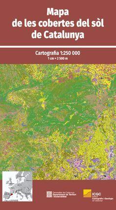 MAPA DE LES COBERTES DEL SOL DE CATALUNYA 1:250,000 -ICGC