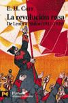 REVOLUCION RUSA, LA. DE LENIN A STALIN (1917-1929)
