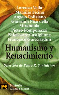 HUMANISMO Y RENACIMIENTO [BOLSILLO]