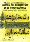 I. HISTORIA DEL PENSAMIENTO EN EL MUNDO ISLÁMICO