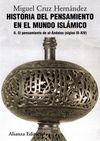 II. HISTORIA DEL PENSAMIENTO EN EL MUNDO ISLÁMICO