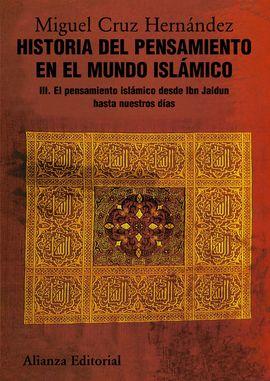 III. HISTORIA DEL PENSAMIENTO EN EL MUNDO ISLÁMICO