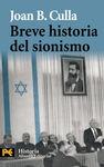 BREVE HISTORIA DEL SIONISMO [BOLSILLO]