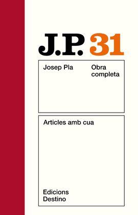 O.C.J. PLA 31 ARTICLES AMB CUA