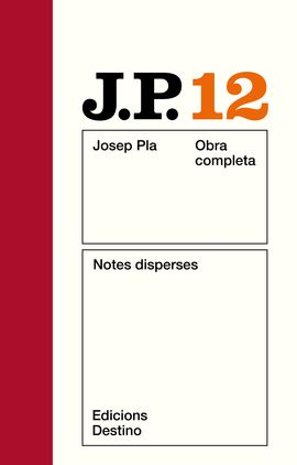 O.C.J.PLA 12 NOTES DISPERSES