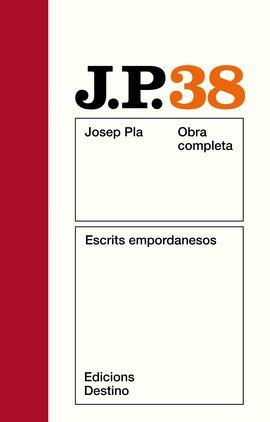 O.C.J.PLA 38 ESCRITS EMPORDANESOS