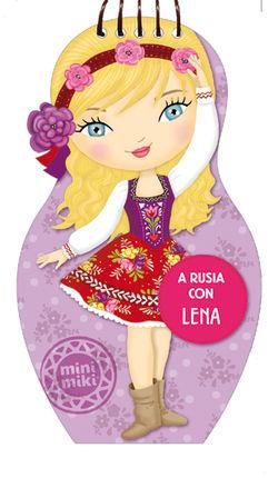 A RUSIA CON LENA [ESPIRAL] -MUÑECAS DEL MUNDO