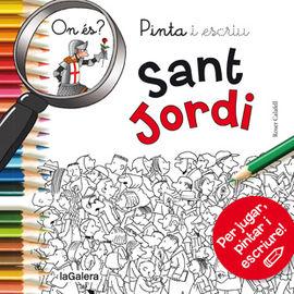 SANT JORDI I EL DRAC -PINTA I ESCRIU