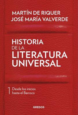 HISTORIA DE LA LITERATURA UNIVERSAL I