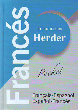 FRANCES -DICCIONARIOS HERDER POCKET