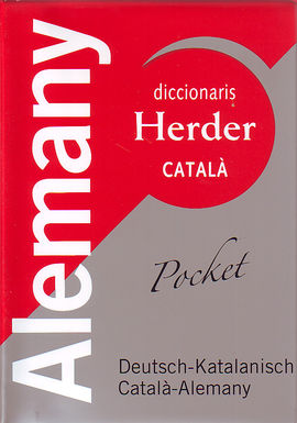 ALEMANY -DICCIONARIS HERDER CATALA POCKET