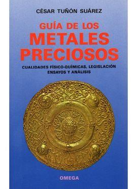 METALES PRECIOSOS, GUIA DE LOS