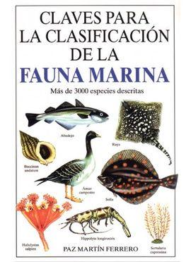 FAUNA MARINA -CLAVES PARA LA CLASIFICACION DE LA