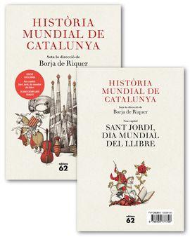 HISTÒRIA MUNDIAL DE CATALUNYA [+ OPUSCLE SANT JORDI]