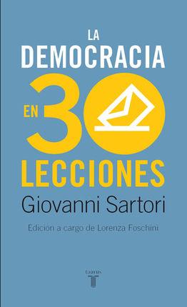 DEMOCRACIA EN TREINTA LECCIONES, LA