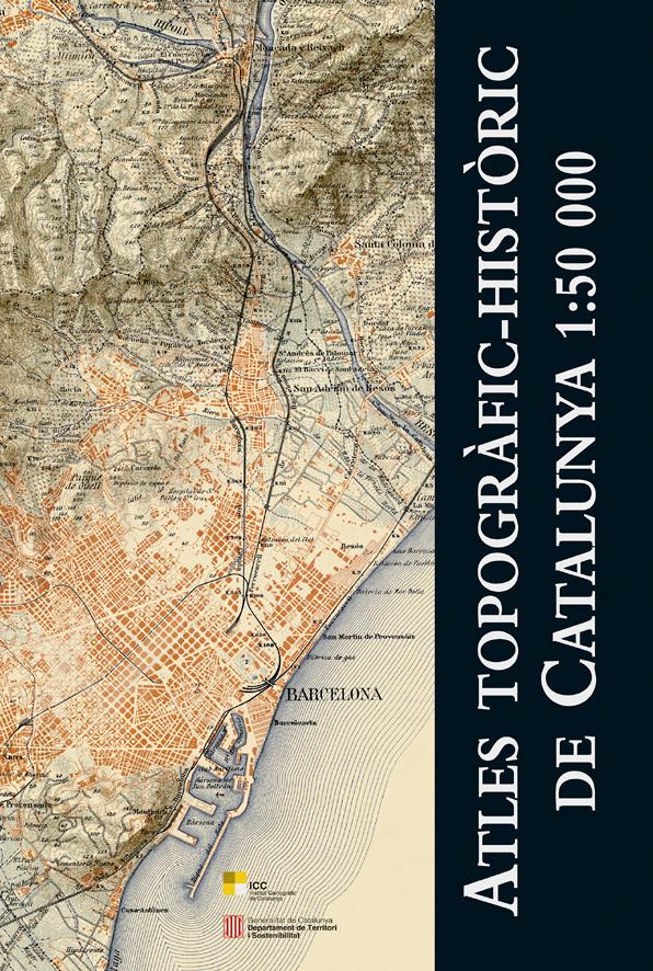 ATLES TOPOGRAFIC-HISTORIC DE CATALUNYA 1:50.000 -ICC