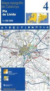 4 PLA DE LLEIDA 1:100.000 -ICC