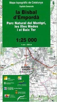 06 LA BISBAL D'EMPORDA 1:25.000 -CAPITALS COMARCALS -ICC