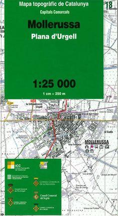 18 MOLLERUSSA 1:25.000 -CAPITALS COMARCALS -ICC