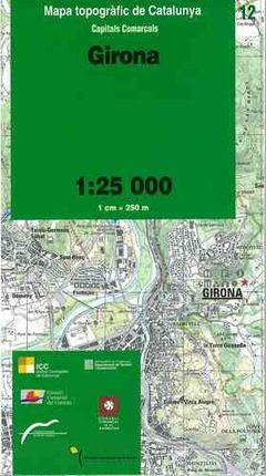 12 GIRONA 1:25.000 -CAPITALS COMARCALS -ICC