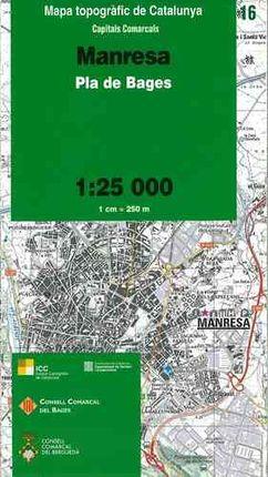 16 MANRESA 1:25.000 CAPITALS COMARCALS -ICC
