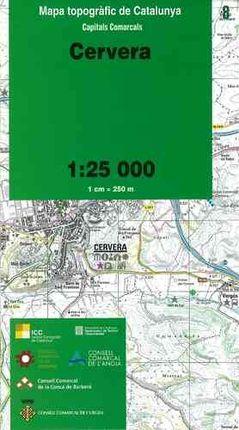 08 CERVERA 1:25.000 -CAPITALS COMARCALS -ICC-ICC