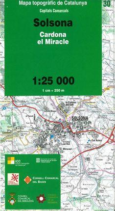 30 SOLSONA 1:25.000 CAPITALS COMARCALS -ICC