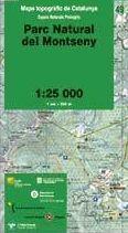 49 PARC NATURAL DEL MONTSENY 1:25.000 -ESPAIS NATURALS PROTEGITS -ICC
