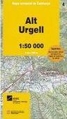 04 ALT URGELL 1:50.000 -MAPA COMARCAL DE CATALUNYA -ICC