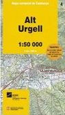 04 ALT URGELL 1:50.000 -MAPA COMARCAL DE CATALUNYA -ICGC