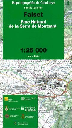 09 FALSET 1:25.000 -CAPITALS COMARCALS -ICC