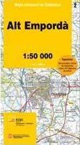 02 ALT EMPORDA 1:50.000 -MAPA COMARCAL CATALUNYA ICC