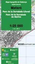 17 MATARO 1:25.000 CAPITALS COMARCALS -ICC