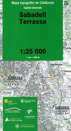 26 SABADELL, TERRASSA 1:25.000 -ICGC