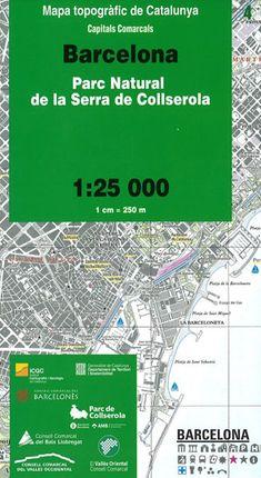 04 BARCELONA 1:25.000 -CAPITALS COMARCALS -ICC