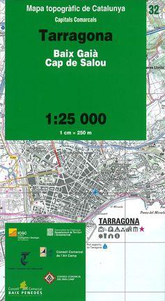 32 TARRAGONA 1:25.000 -CAPITALS COMARCALS -ICC